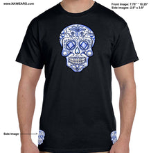 Sugar Skull - Blue Life T-shirt