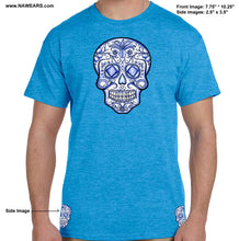 hpt- Sugar Skull -Blue Life - T-shirt