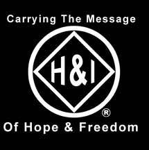 "bs- H & I Hope Freedom - Sticker 3""x3"""