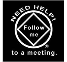 "bs- Need Help Follow Me Sticker 3""x3"""