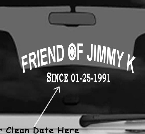 Win Decal- Clean Date Jimmy K