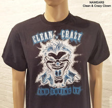 Clean & Crazy Clown T-shirt