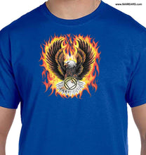 hpt- Flaming Eagle T's