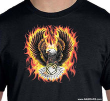 Flaming Eagle T-shirt