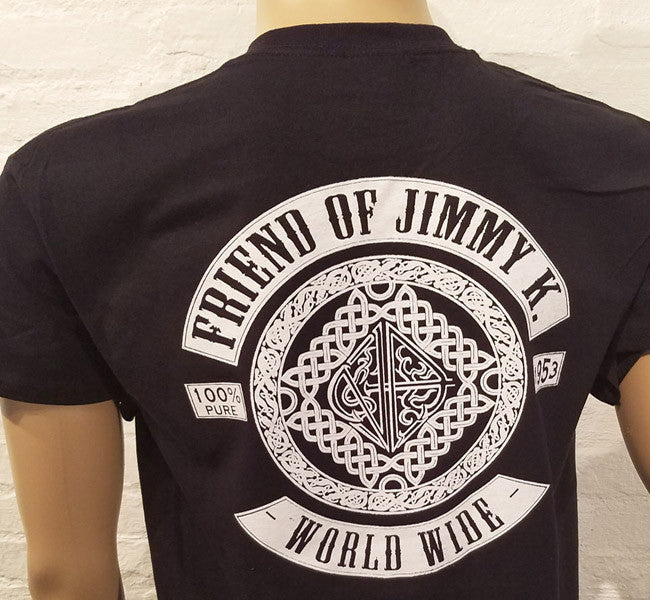 Friend Of Jimmy K Black/White T-shirt