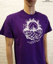 Giving Hands Purple - T-shirt