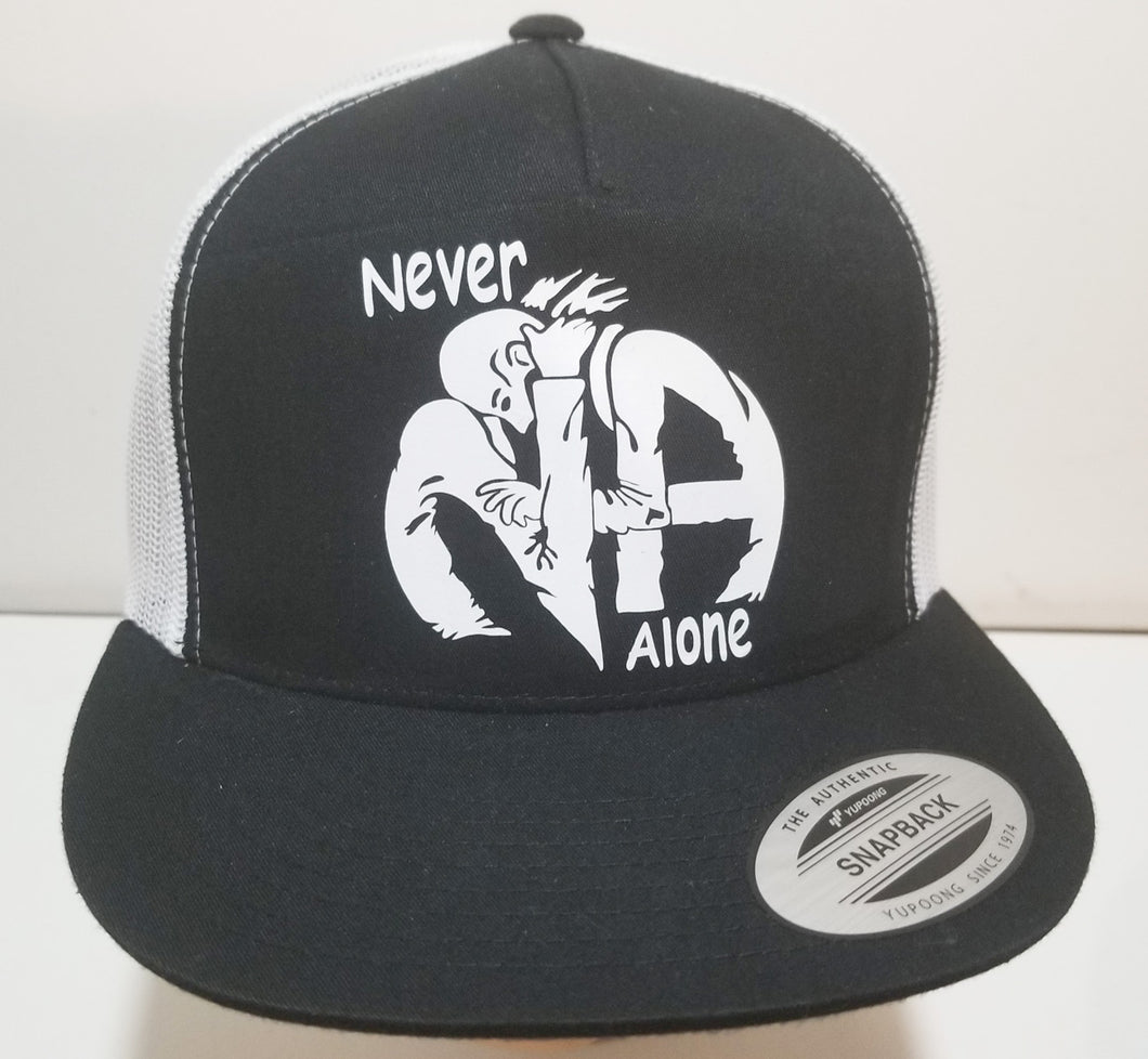 hg- Trucker Cap- Hugs Never Alone