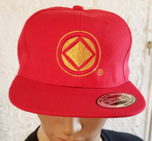 hg- Ball Cap-08- Service Symbol-Red & Gold