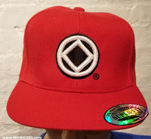 hg- Ball Cap-11-NA Service Symbol  -Red/Blk/White