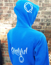 Hoodie - GRATEFUL NA - Blue CLEARANCE