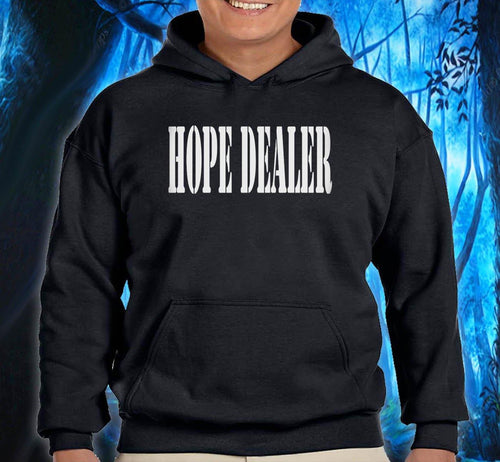 Hoodie - Hope Dealer - Black - nawears