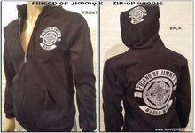 Zip-Up - FRIEND OF JIMMY K - Black