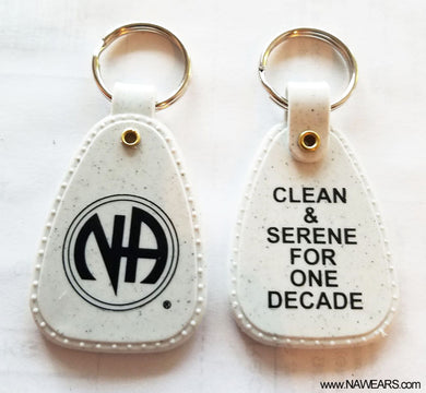 PKT- 10yr Clean Time Key Tags