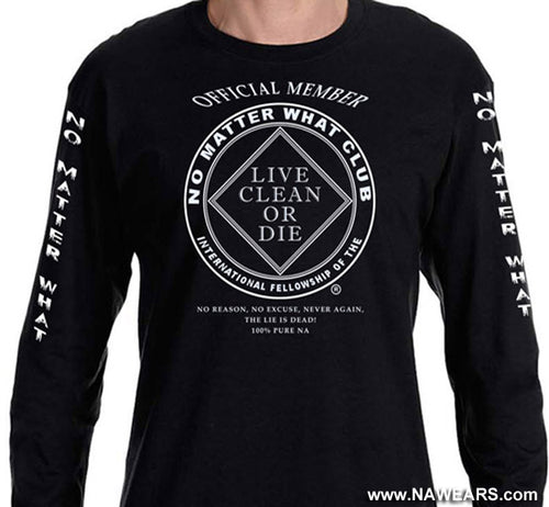 LS - No Matter What Club - Long Sleeve Tee