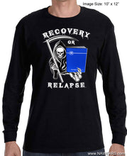 LST - Recovery Or Relapse  - Black Long Sleeve