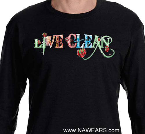 LS - Sugary Live Clean Long Sleeve Tee