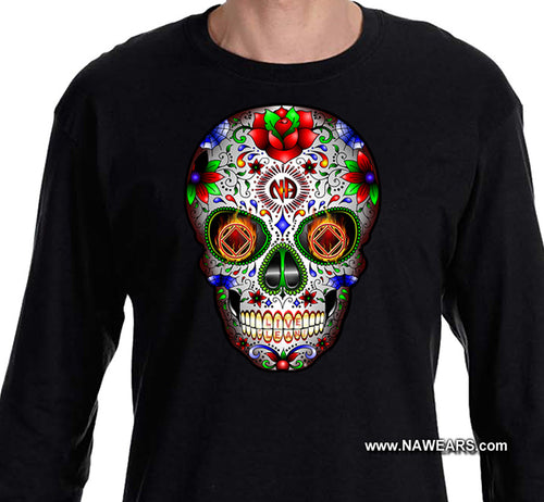 LS - Sugar Skull 2019- Long Sleeve Tee