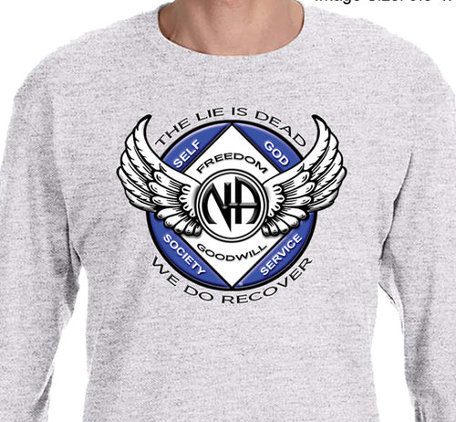 LST - Winged NA Symbol - Long Sleeve