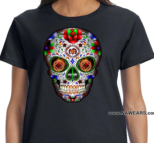 ldTs- Sugar Skull 2019  - Ladies T's