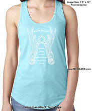 ltt- 3rd Step Angel - Ladies Tank Tops