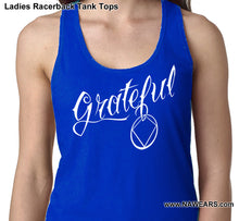 ltt- Grateful - Ladies Racerback Tank Tops