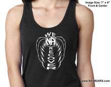 ltt- We Recover Wings -  Ladies Tank Tops