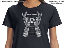 ldTs- 3rd Step Angel - Ladies T's
