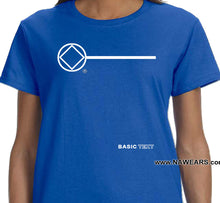 ldTs- Basic Text - Ladies T's