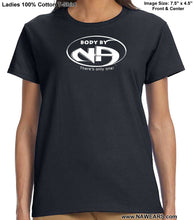 ldTs- Body By NA - Ladies T's