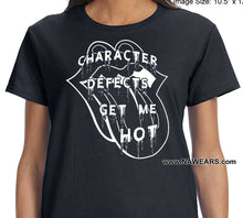 ldTs- Defects Get Me Hot - Ladies T's