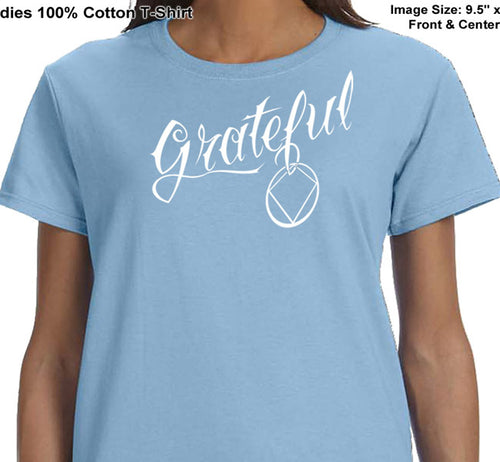 ldTs- Grateful - Ladies T's