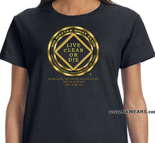 ldTs- No Matter What Gold- Ladies T's