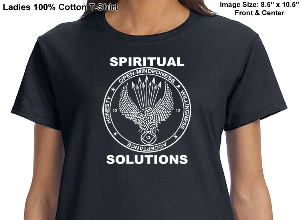 ldTs- Spiritual Solutions - Ladies T's