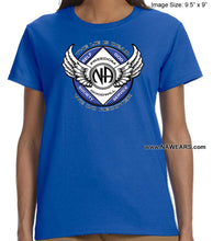 ldTs- Winged NA Symbol - Ladies T's