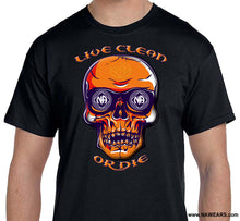 Live Clean Skull T-shirt