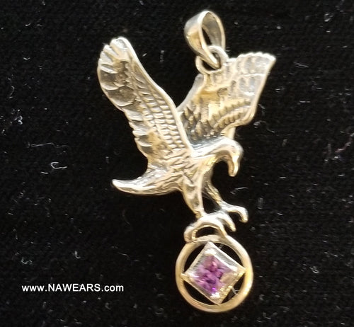 ssj015- NA Large Eagle Pendant