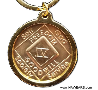 mhkt- Medallion Holder Key Chain