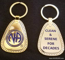 mkt- Metal Decades Clean Key Tag