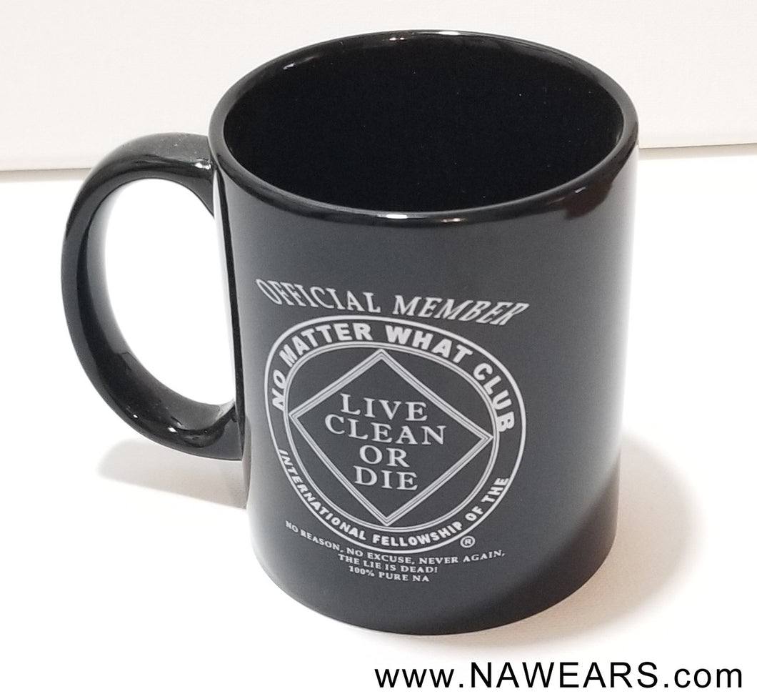 Mug- No Matter What- Black 12oz