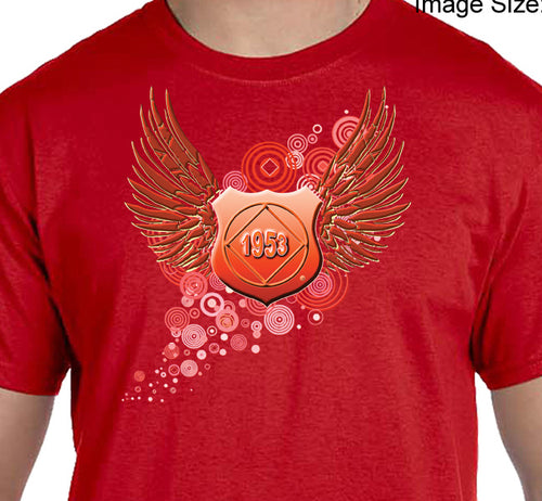 hpt- Red Flying Shield Tee