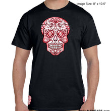hpt- Sugar Skull -Red Life - T-shirt