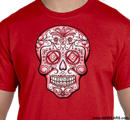 Sugar Skull - Red Life T-shirt