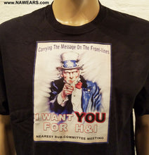 hpt- H&I Uncle Sam  T-shirt