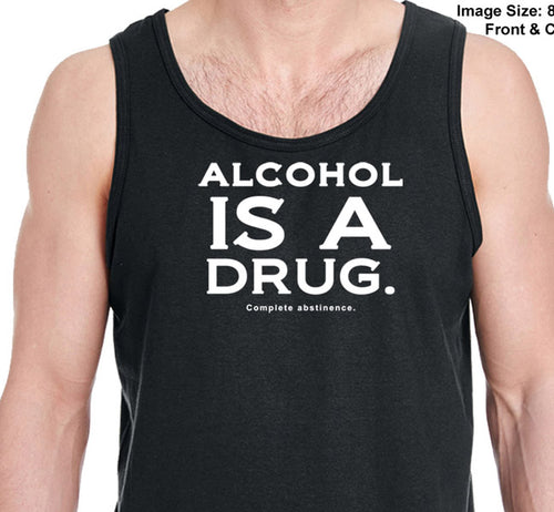 utt-Alcohol  Is A D -  Unisex  Tank Tops