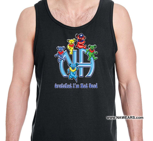 utt- Grateful I'm Not Dead - Unisex Tank Tops