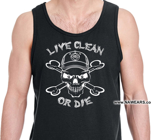 utt- Live Clean Cappy - Unisex Tank Tops