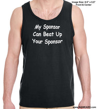 utt- My Sponsor Can - Unisex Tank Tops