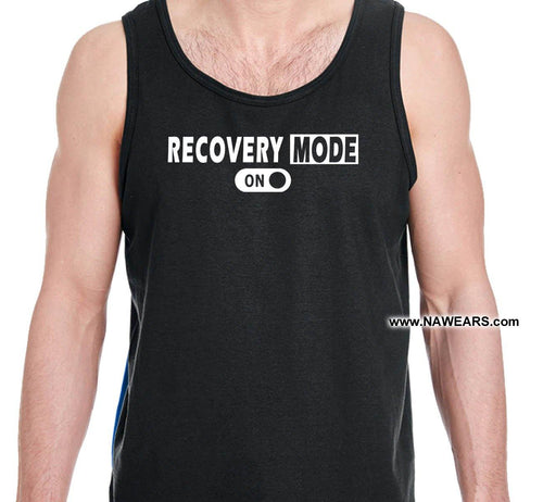 utt-  Recovery Mode On - Unisex Tank Tops - nawears