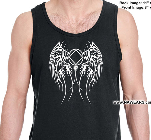 utt- Tribal Patch 2 Sided - Unisex Tank Tops
