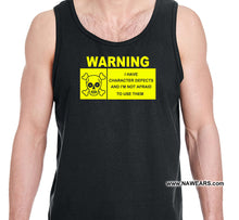 utt-  I Have Defects  - Unisex Tank Tops
